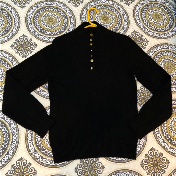 Evelyn Sweaters - Evelyn black CASHMERE sweater